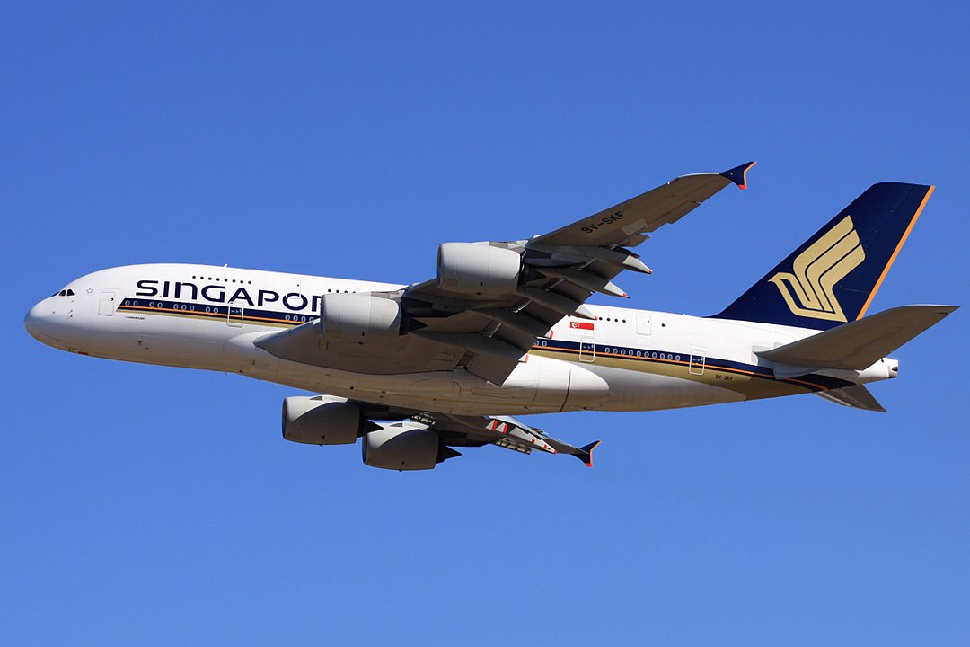 Flug Singapore Airlines SQ ab Frankfurt Airport FRA