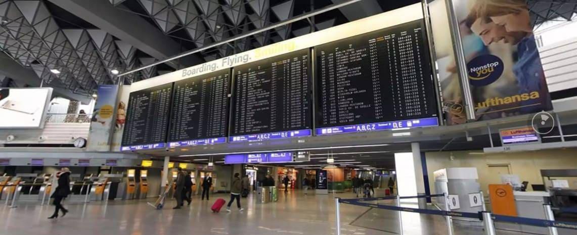 Flugpreisvergleich ab Flughafen Frankfurt