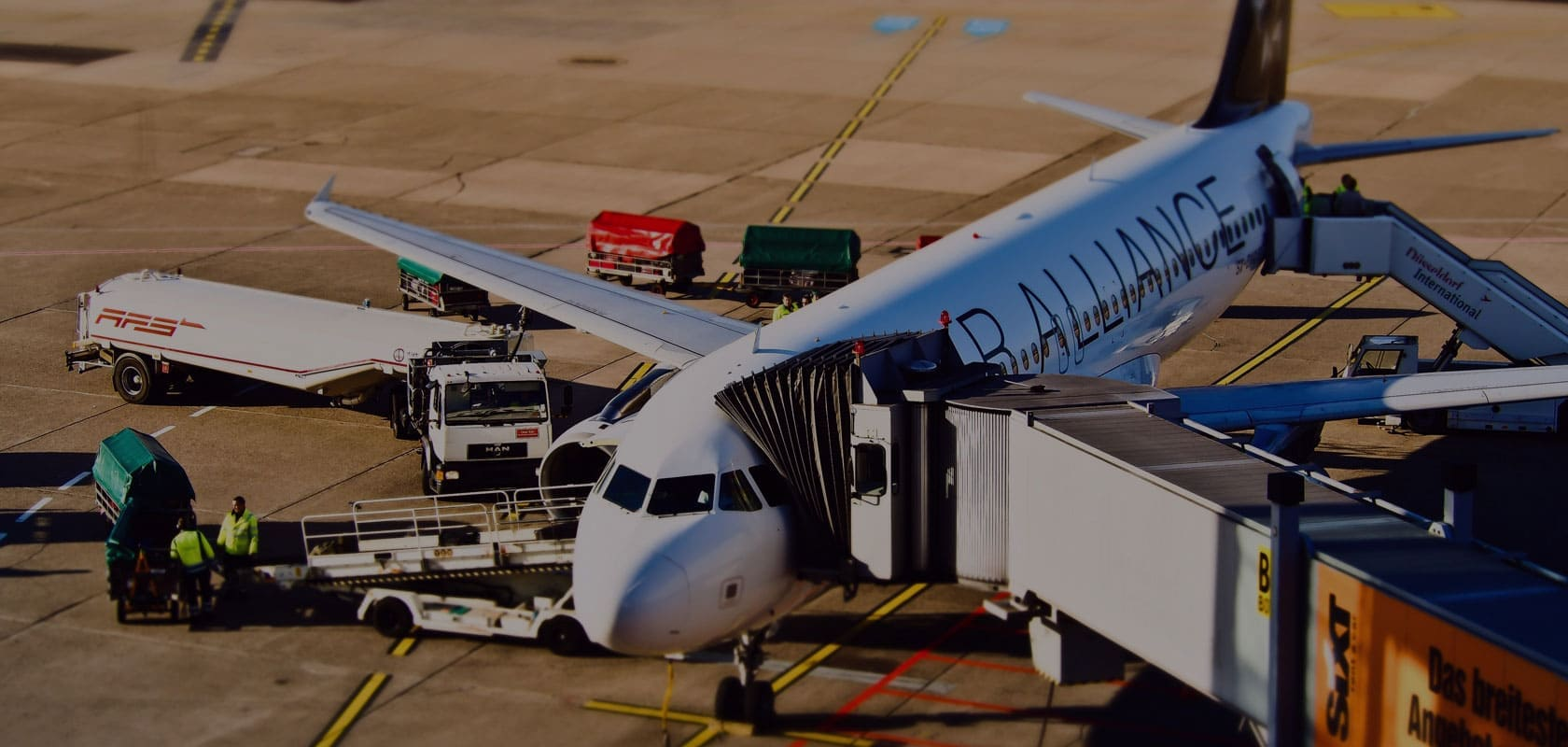 Business Class Linienflug ab Flughafen Frankfurt Airport FRA