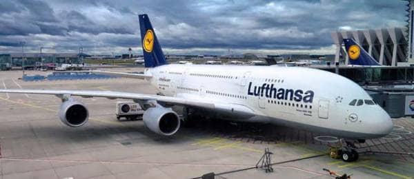 Flug Lufthansa LH ab Frankfurt Airport FRA