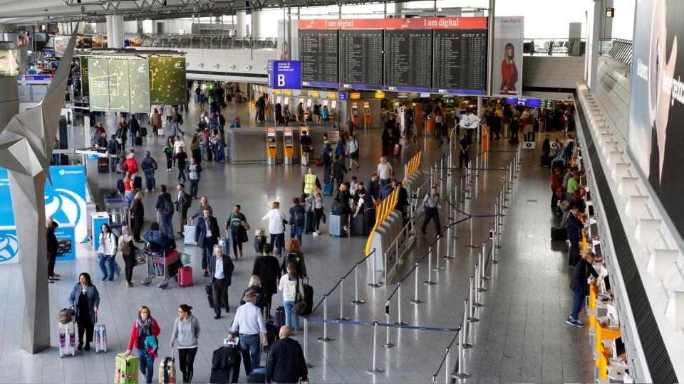 Frankfurter Flughafen Abflug Terminal 1